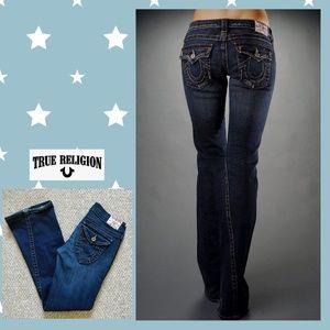 W's True Religion Joey flared jeans sz 29
